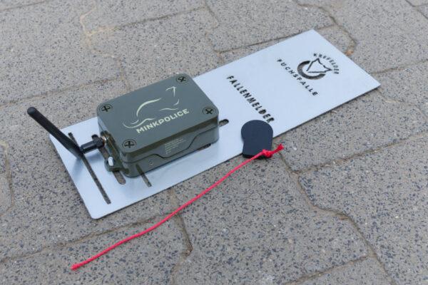 Minkpolice MP10 montiert